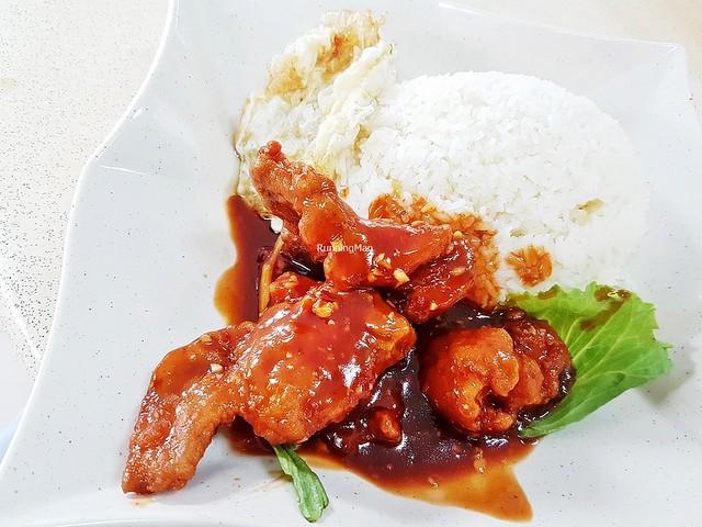 Pork Rib King With Rice & Egg