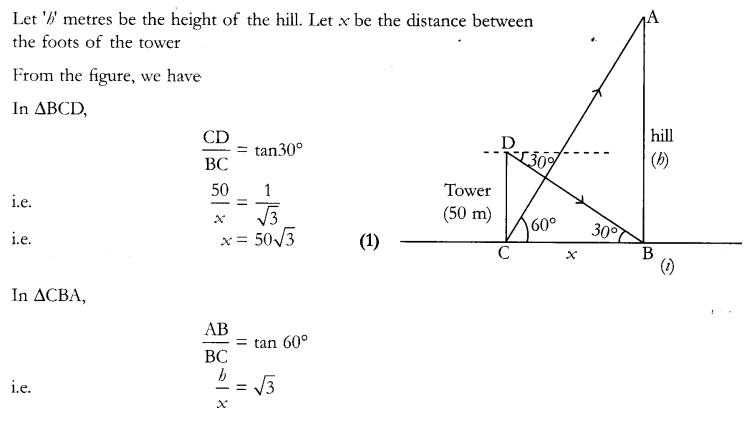 CBSE Sample Papers for Class 10 Maths Paper 12 Q 27
