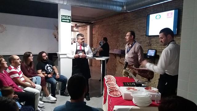 I Concentración de Cortadores de Jamón Solidaria