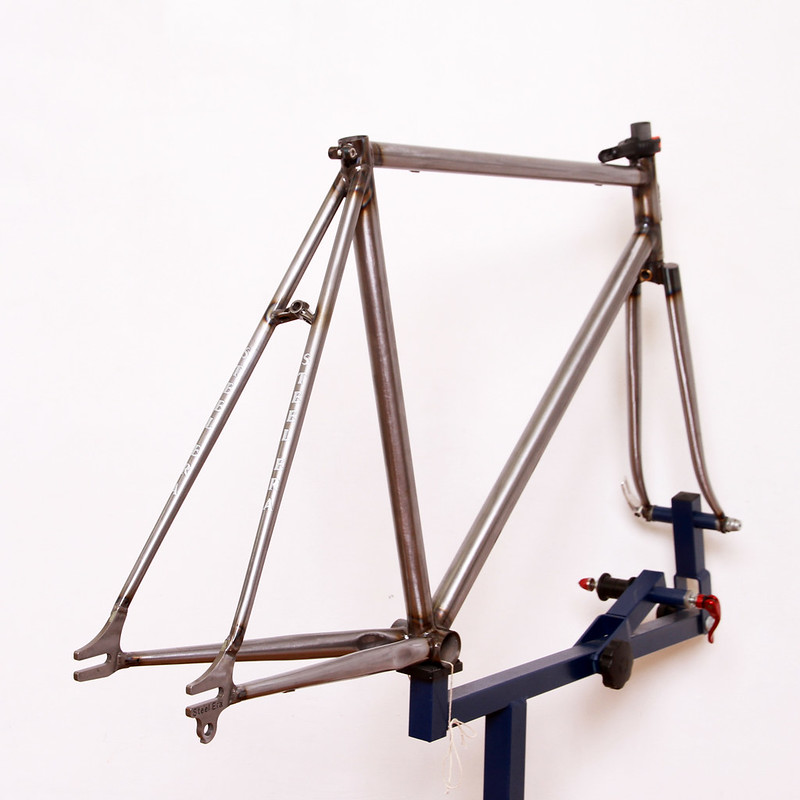 Steel Era Frame Set Raw Finish