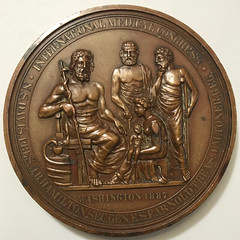 International Medical Congress Medal reverse