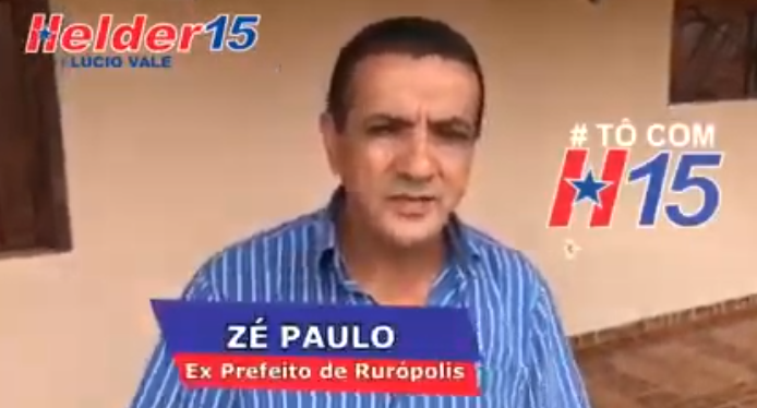 Presidente do PSDB de Rurópolis trai legenda e declara apoio a Helder, Tucano de Rurópolis, José Genuíno