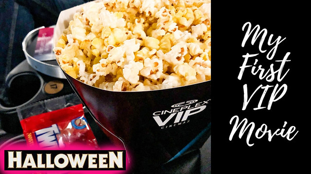 My First VIP Movie Experience... HALLOWEEN!!!