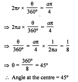 RD Sharma Class 10 Solutions Areas related to Circles Exercise 15.2