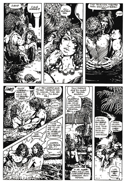 Conan de Roy Thomas y Barry Windsor Smith 07 -03- La Canción de Red Sonja 03