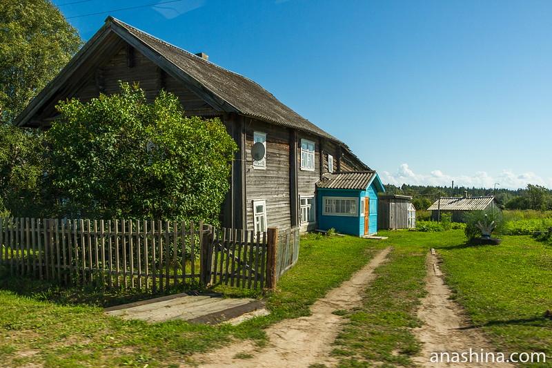 Старый дом, Мегрега, Карелия