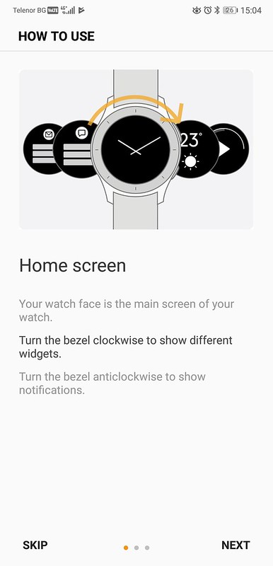 Galaxy Watch Screenshots