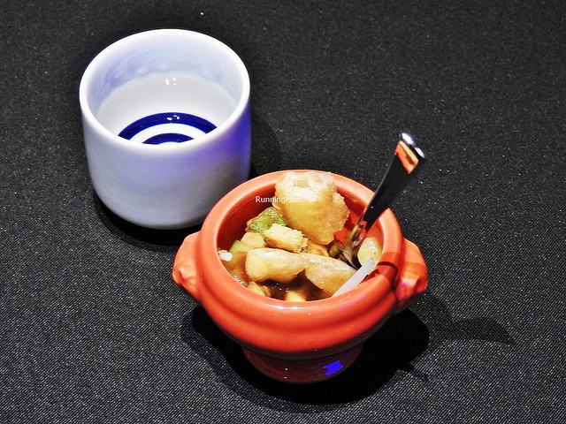 Sake Daina Tokubetsu Junmai 13 Genshu & Rojak
