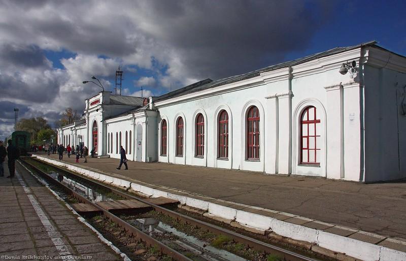 Вокзал станции Осташков