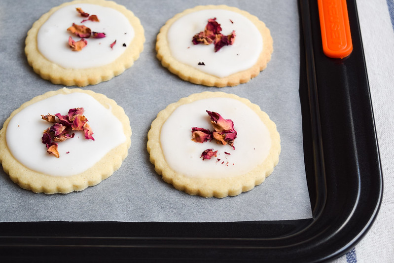 Easy Rosewater Biscuits with Le Creuset