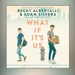 #currentlyreading What if It's Us by Becky Albertalli and Adam Silvera. This is my current audiobook. In case you're wondering, I listen in the in between - five minutes here or there when I can't work on other things. It's slow, but it means I still get