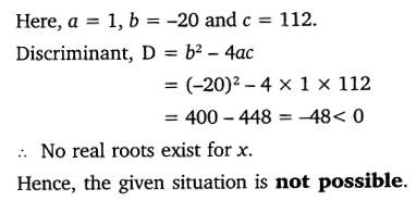 NCERT Solutions for Class 10 Maths Chapter 4 Quadratic Equations 46