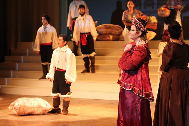 El Instituto de Arte de la USMP presentó por primera vez en el Perú la Ópera Rusa Eugenio Oneguin