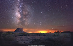 Fajeda Butte Aligned With the Milky Way