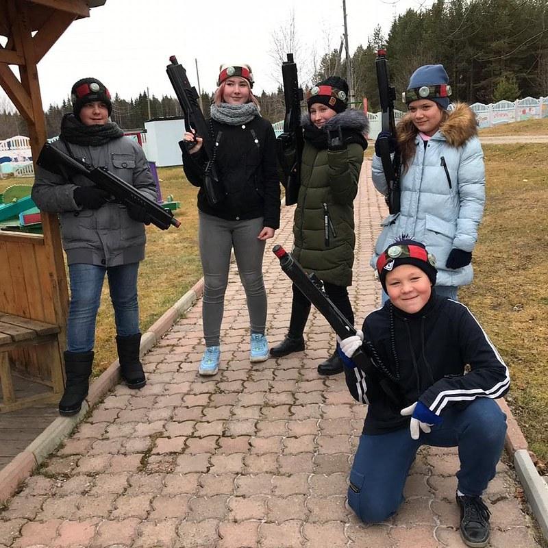 6а класс посетил загородный лагерь «Светлячок»