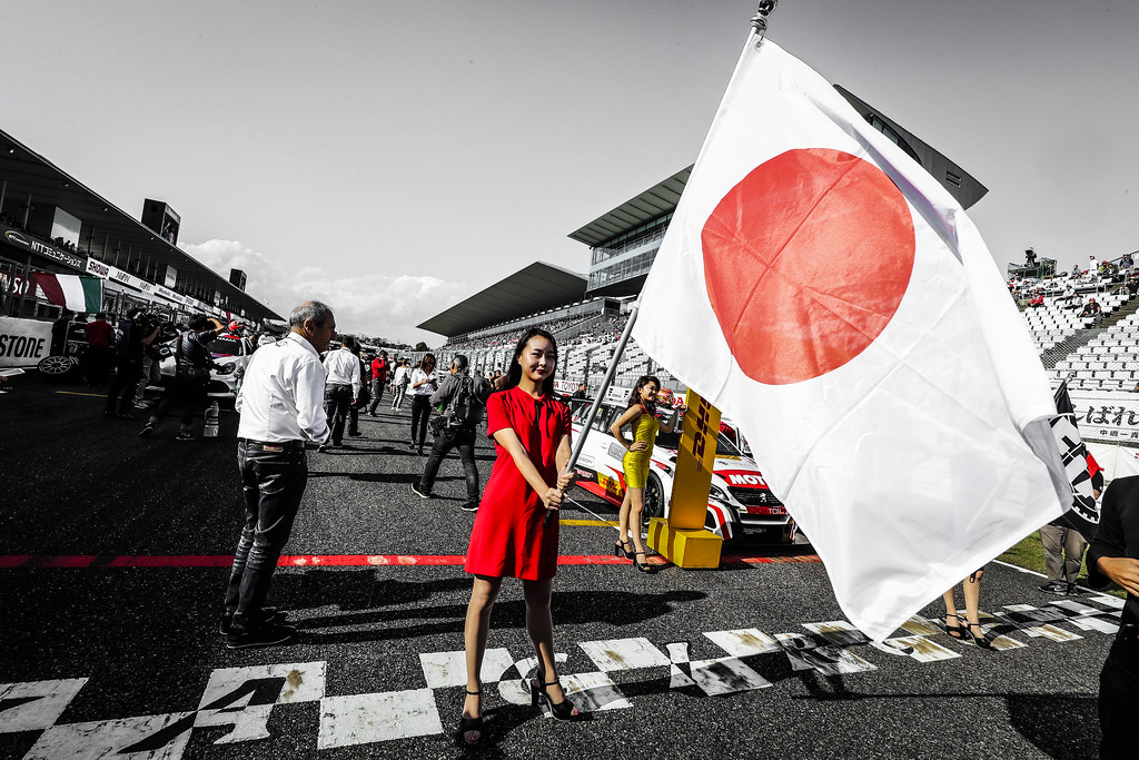 grille de depart starting grid during the 2018 FIA WTCR World Touring Car cup of Japan, at Suzuka from october 26 to 28 - Photo Clement Marin / DPPI