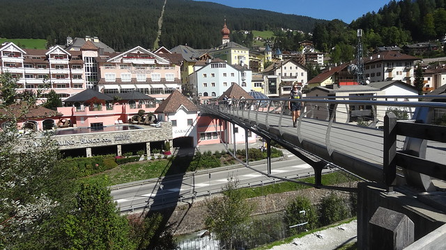 Bridge from parking area, Sony DSC-HX10V