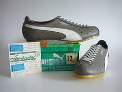 UNWORN VINTAGE PUMA TOURING G. CYCLING SPORT SHOES