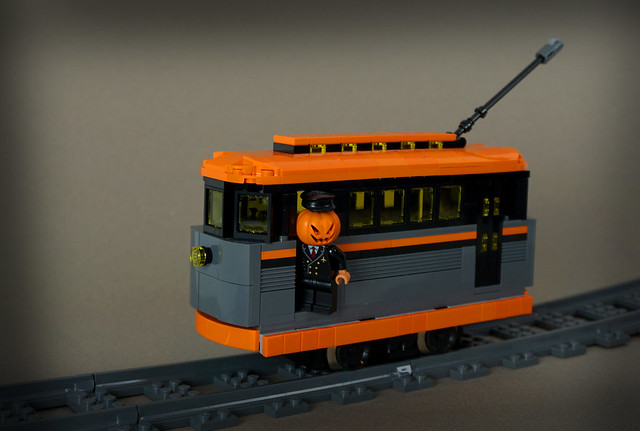 Pumpkin Trolley