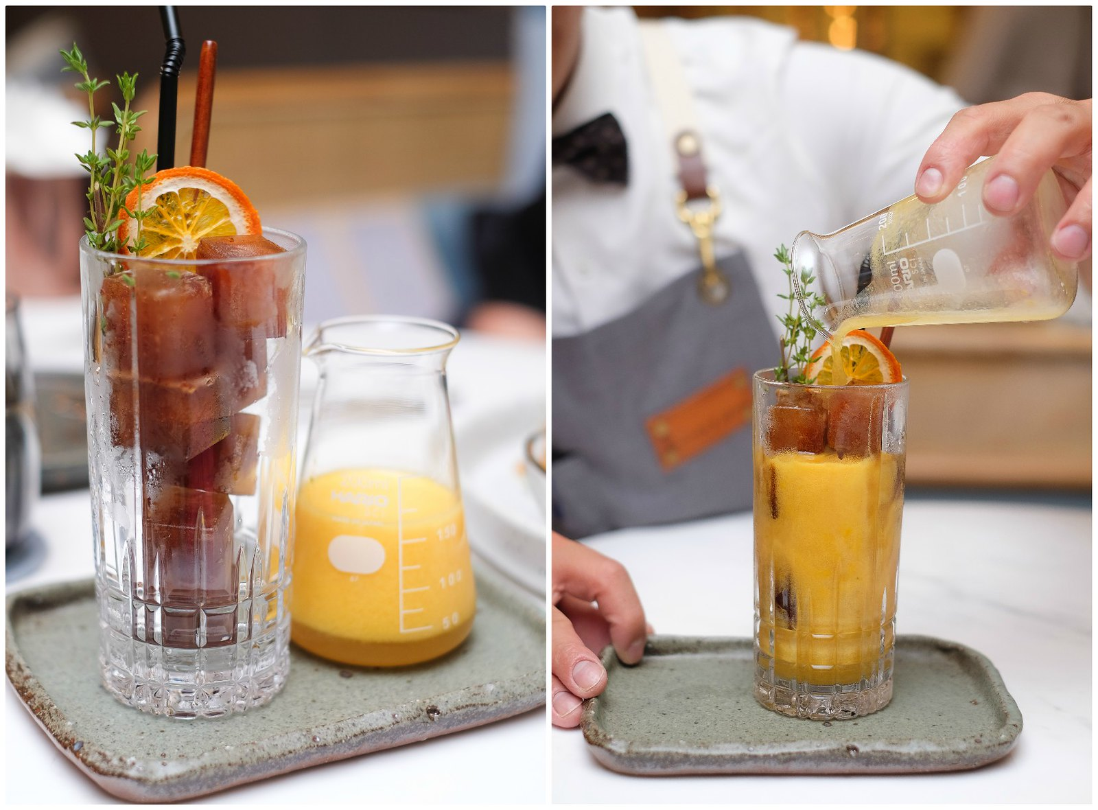 Halcyon & Crane Orange Juice Coffee Cubes