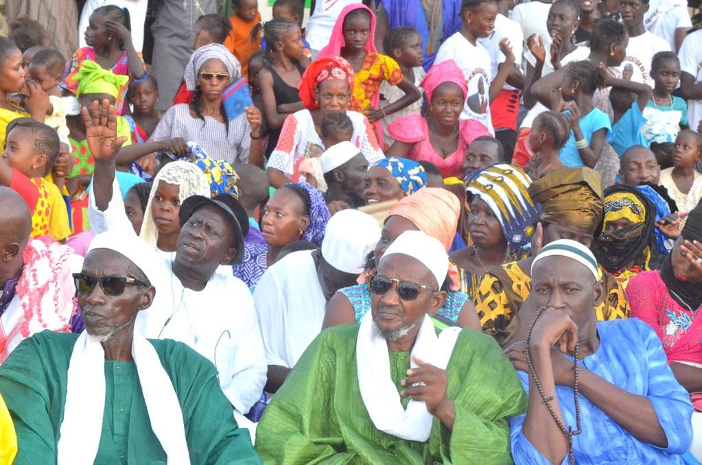 Meeting CAP2M à Thilogne, Ibrahima Agne, Oumar Mamadou Dème, APR Matam, Almamy Bocoum à Thilogne (6)