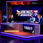 Vikings LIVE Co-hosts Hobie Artigue, Ron Johnson, and Matt Birk-Eagan, Minnesota