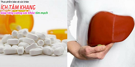 Nhóm thuốc statin gây độc tính nên gan, nên cần lưu ý trong quá trình sử dụng