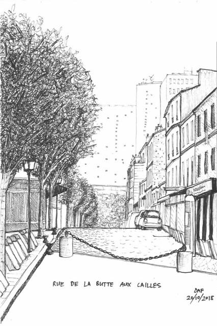 Rue de la Butte aux Cailles