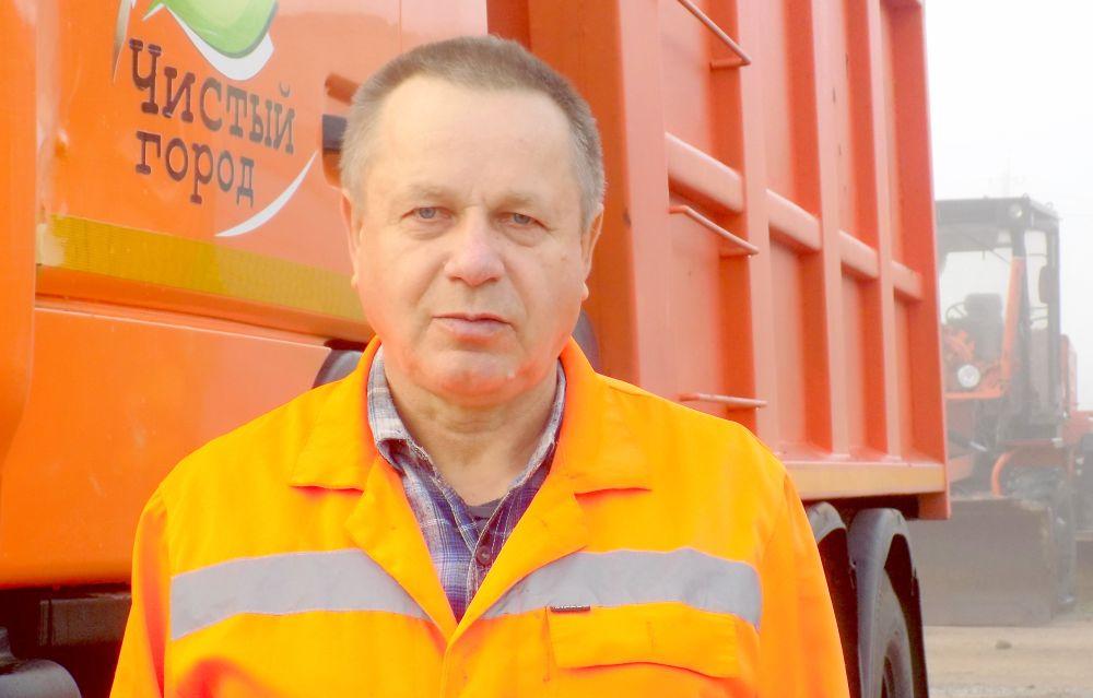 Василий Карпенко, водитель