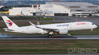 China Eastern A350-941 msn 248