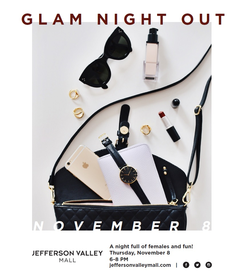 Glam Night Out at The Jefferson Valley Mall Westchester New York Fashion Event