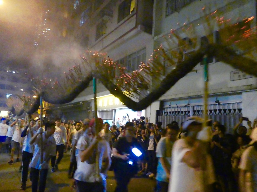 Hing Kong Fire Dragon festival