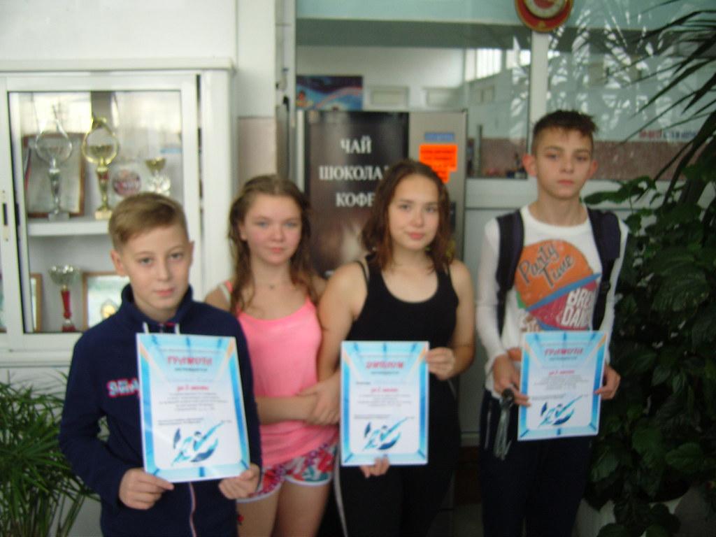 Первенство города по плаванию среди школьников 2018