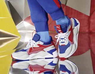 Hasbro × PUMA《變形金剛》柯博文、大黃蜂 主題RS-X 鞋款 RS-X Transformers Optimus Prime、Bumblebee