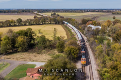 BNSF 5308 | GE C44-9W | BNSF Thayer South Subdivision