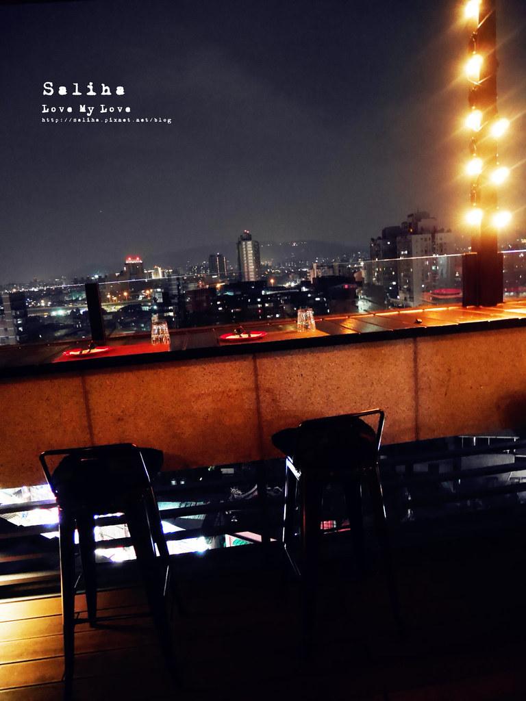 台北夜景景觀餐廳推薦ABV閣樓餐酒館約會情人節氣氛好浪漫 (1)