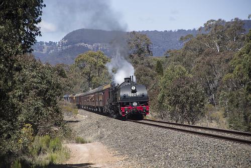 6029, on 6S61, approaching Clandulla, Gwabegar Branch, NSW, 29th September, 2018.
