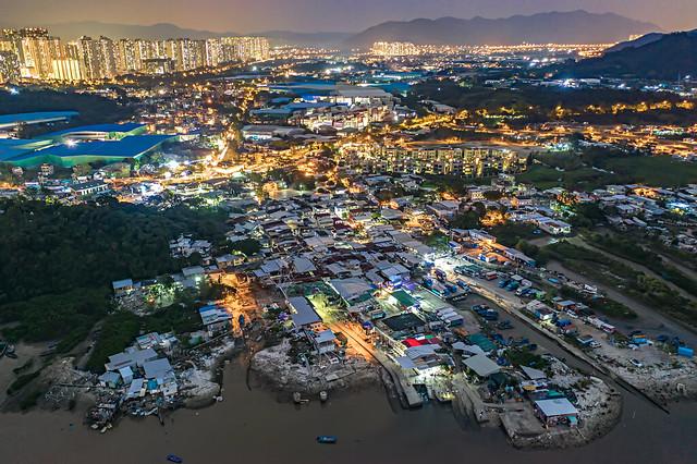 Night of Lau Fau Shan, Hong Kong
