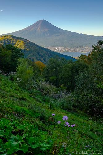 Early autumn @Misaka pass