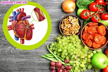 Bệnh mạch vành nên ăn gì để giảm tắc hẹp, có lợi cho sức khỏe?