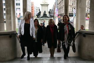 Liadh Ní Riada visits Belfast