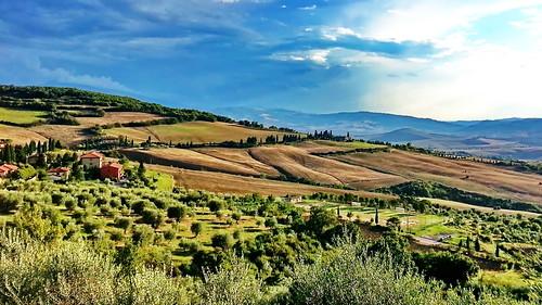Toscana, Val d'Orcia