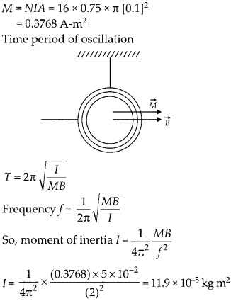 NCERT Solutions for Class 12 Physics Chapter 5 Magnetism and Matter 14