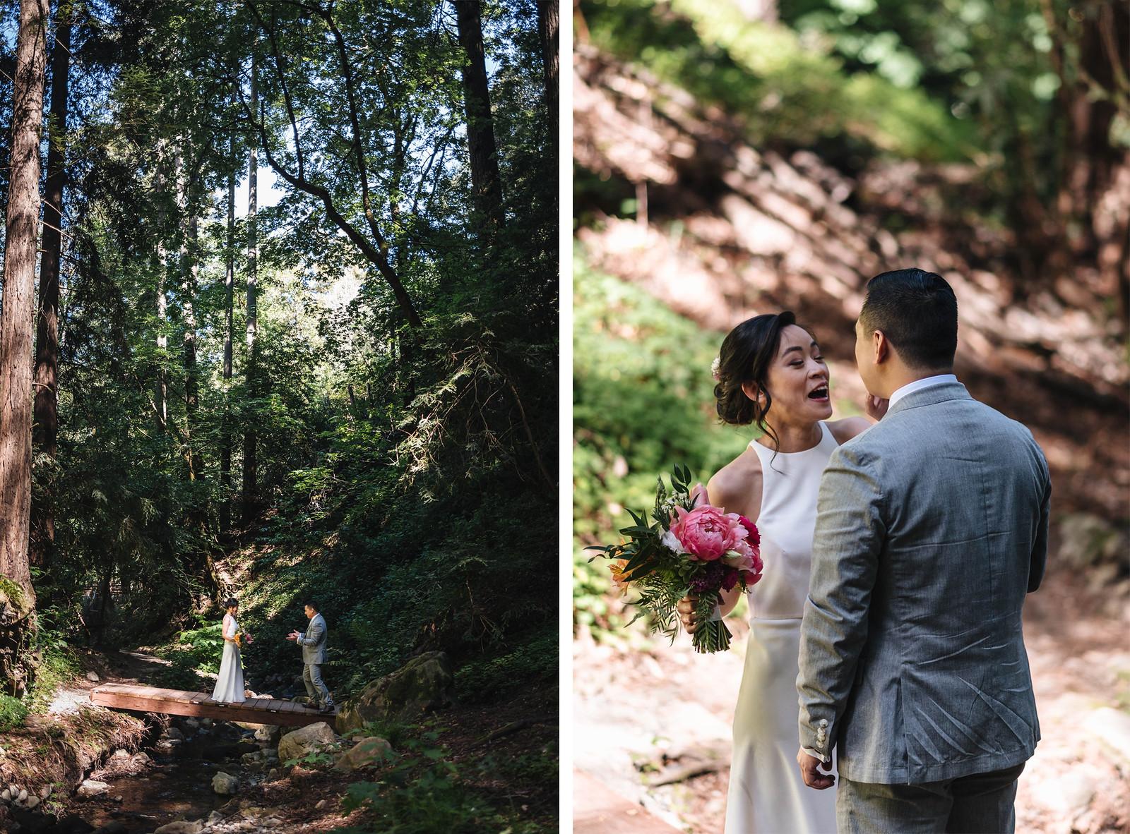 first-look-redwoods-california-wedding on juliettelaura.com