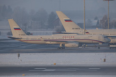 RA-64524. Tupolev Tu-204 Rossiya Special Flight @ Zürich ZRH LSZH