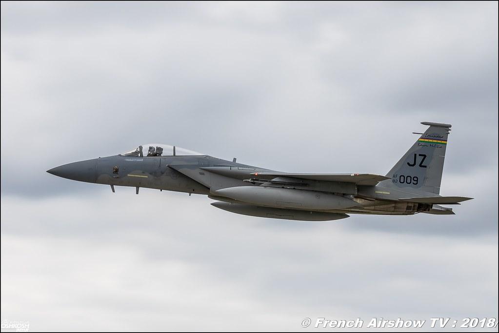 McDonnell Douglas F-15 Eagle EAA Oshkosh 2018