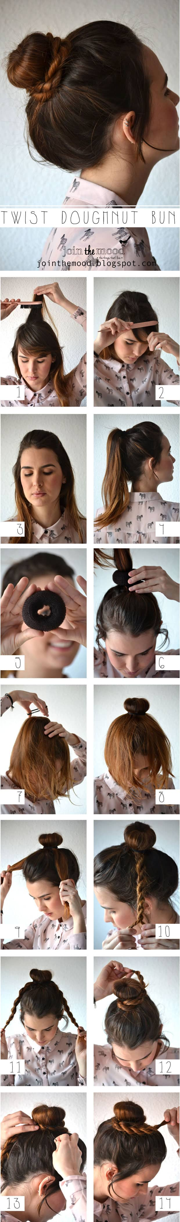 Best Adorable Bun Hairstyles 2019-Inspirations That 20