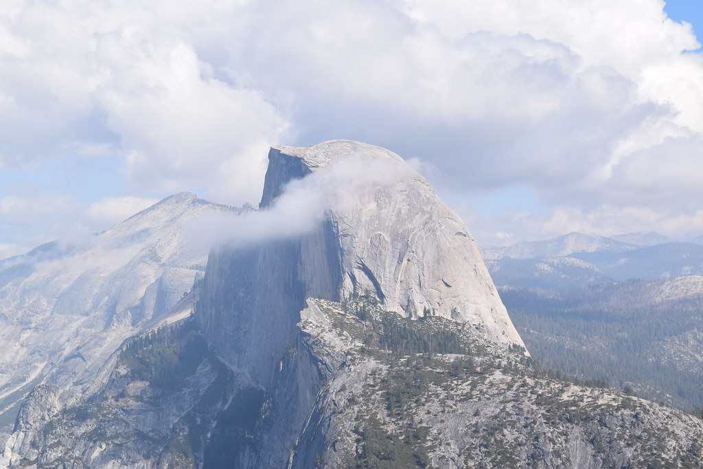 Half Dome from Glacier Point