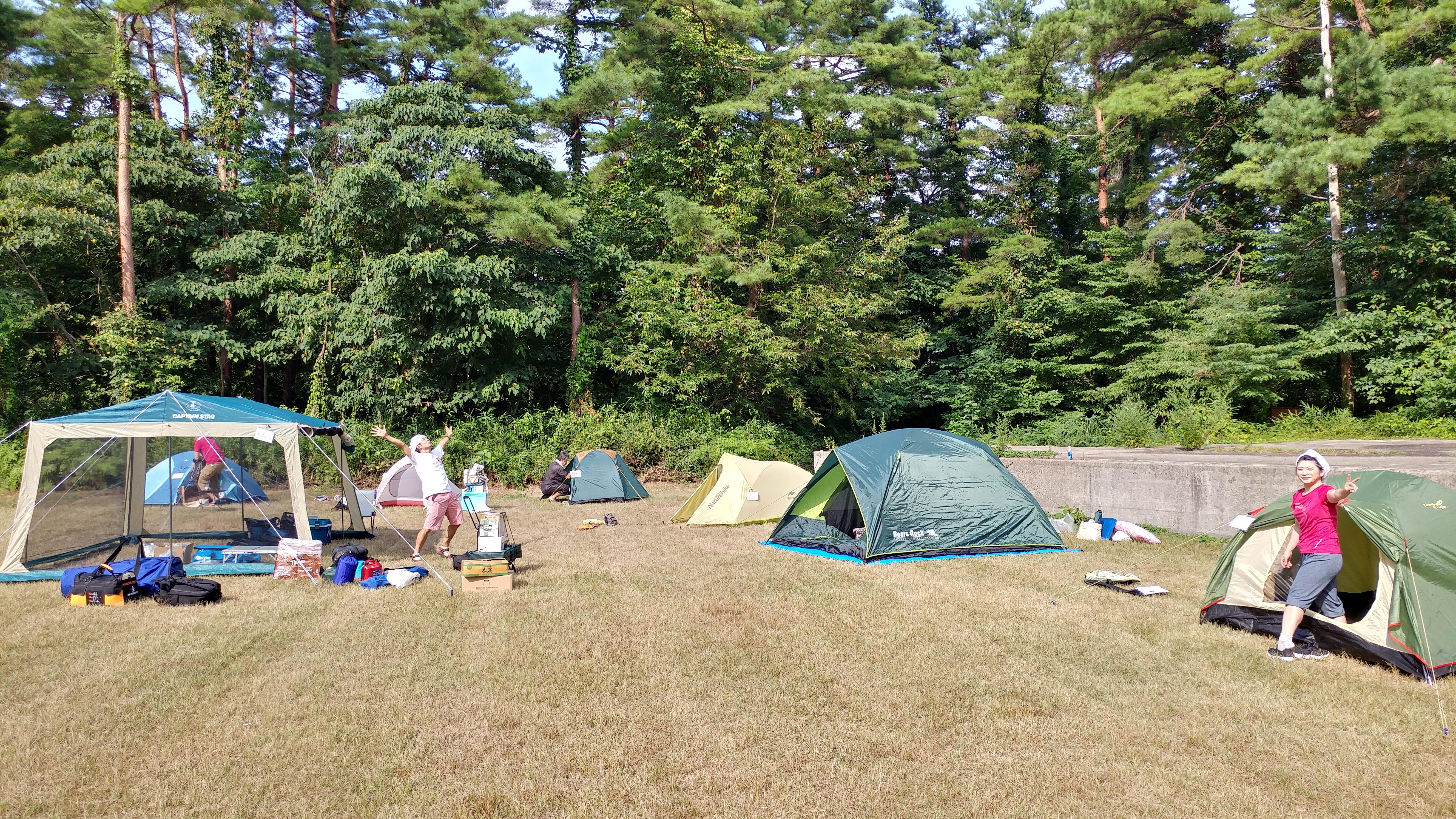 2018/08/11 神鍋高原キャンプ場