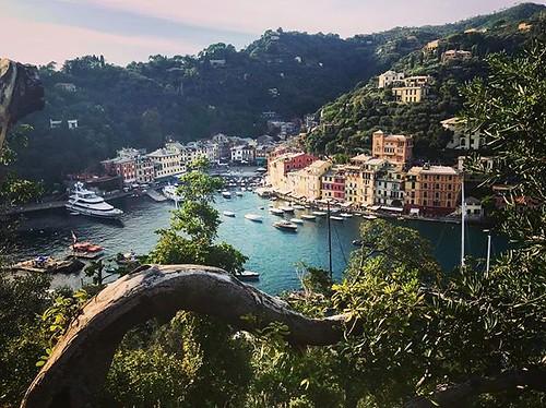 El #port de #Portofino des del #CastelloBrown #Liguria